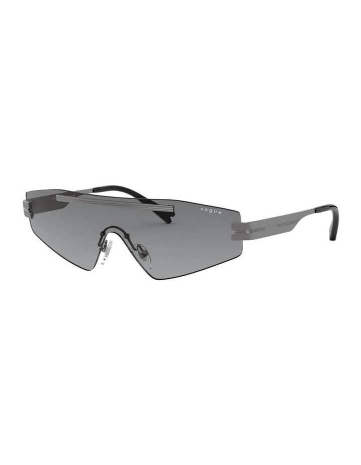Grey Metal Shield Sunglasses 0VO4165S 1530181001 image 1