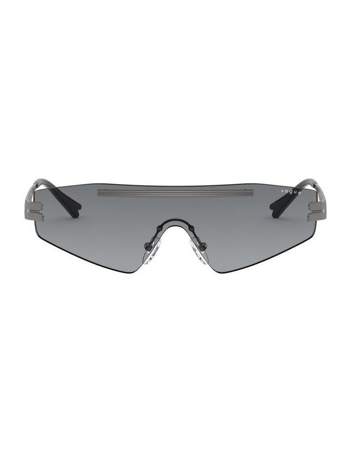 Grey Metal Shield Sunglasses 0VO4165S 1530181001 image 2