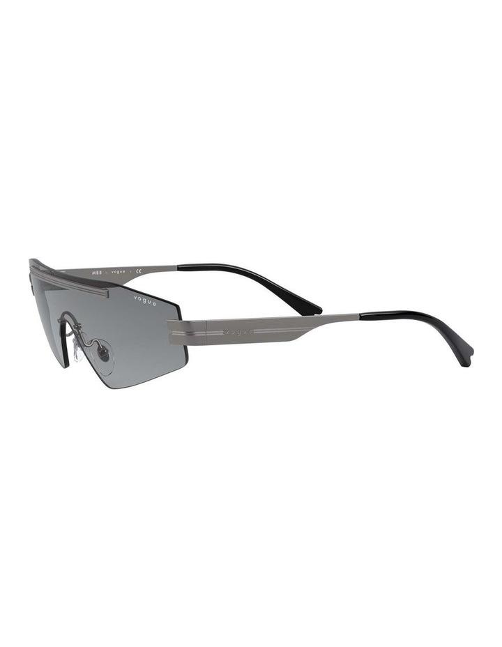 Grey Metal Shield Sunglasses 0VO4165S 1530181001 image 3