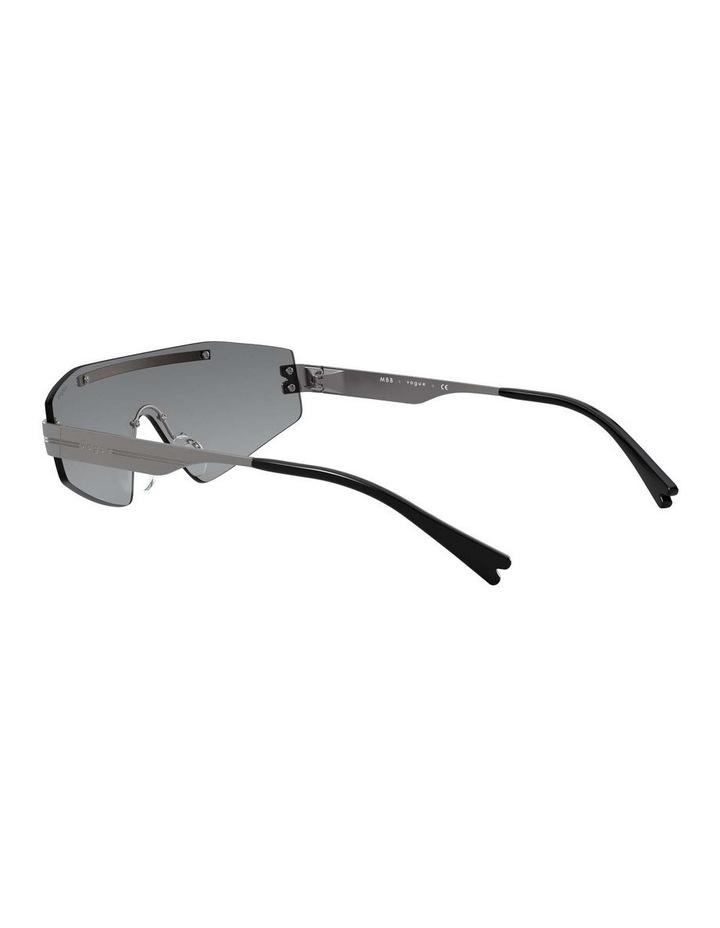 Grey Metal Shield Sunglasses 0VO4165S 1530181001 image 5