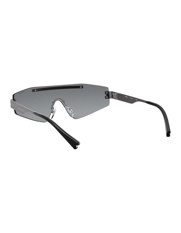 Grey Metal Shield Sunglasses 0VO4165S 1530181001 image 6