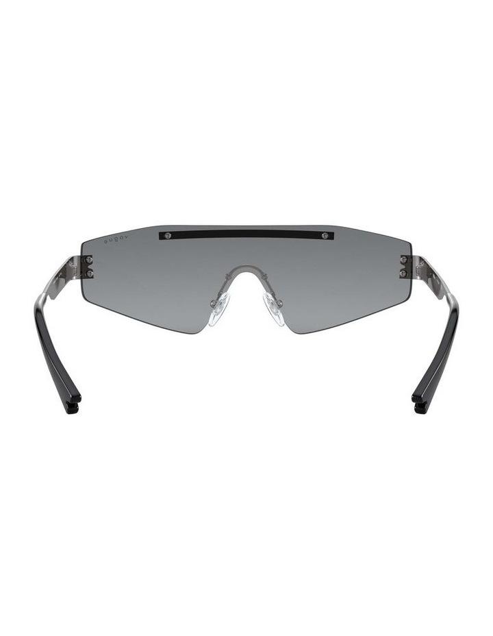 Grey Metal Shield Sunglasses 0VO4165S 1530181001 image 7