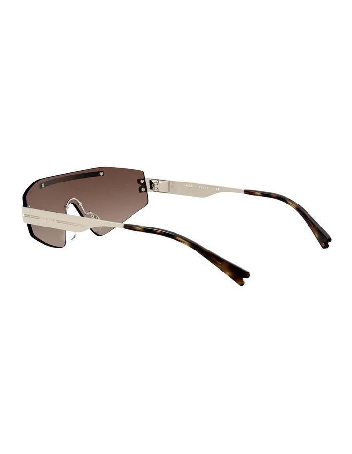 Brown Metal Shield Sunglasses 0VO4165S 1530181002 image 5