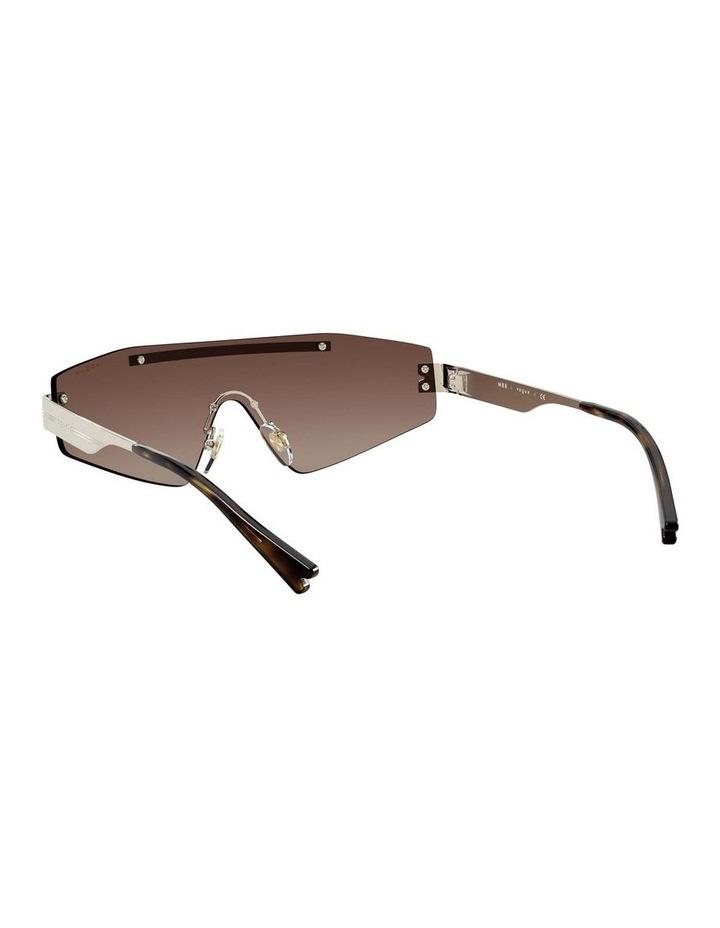 Brown Metal Shield Sunglasses 0VO4165S 1530181002 image 6