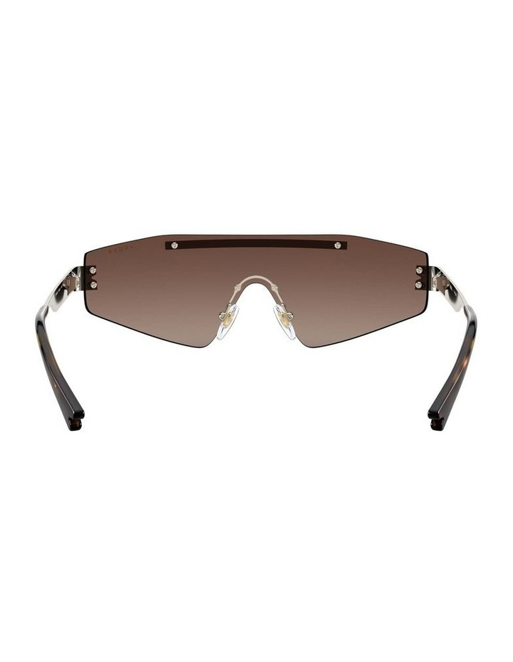Brown Metal Shield Sunglasses 0VO4165S 1530181002 image 7