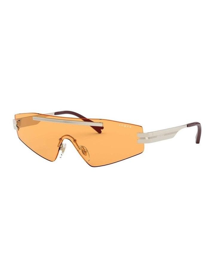Orange Metal Shield Sunglasses 0VO4165S 1530181003 image 1