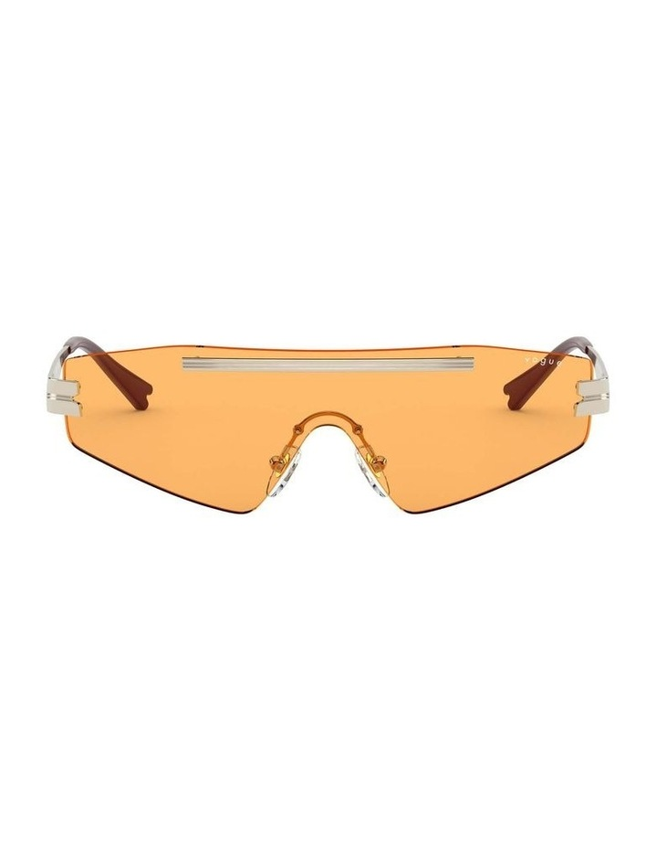 Orange Metal Shield Sunglasses 0VO4165S 1530181003 image 2