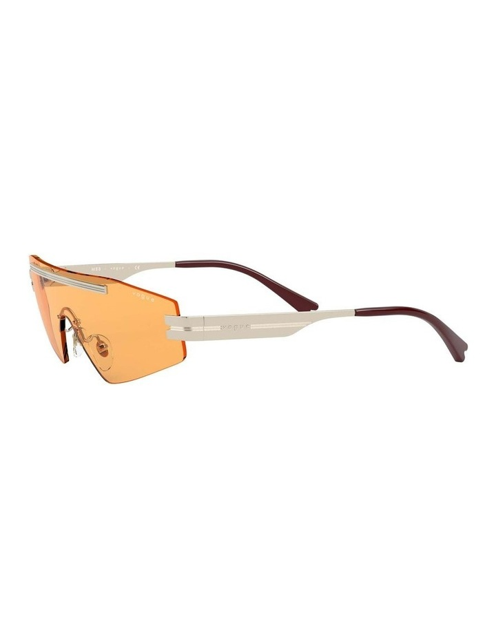Orange Metal Shield Sunglasses 0VO4165S 1530181003 image 3