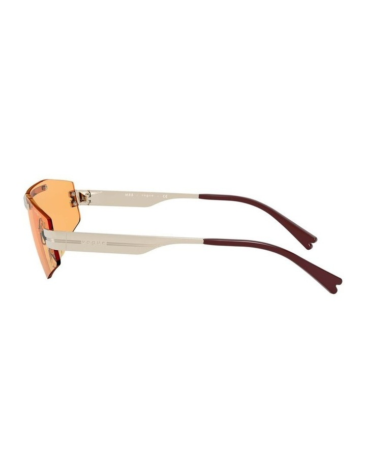 Orange Metal Shield Sunglasses 0VO4165S 1530181003 image 4