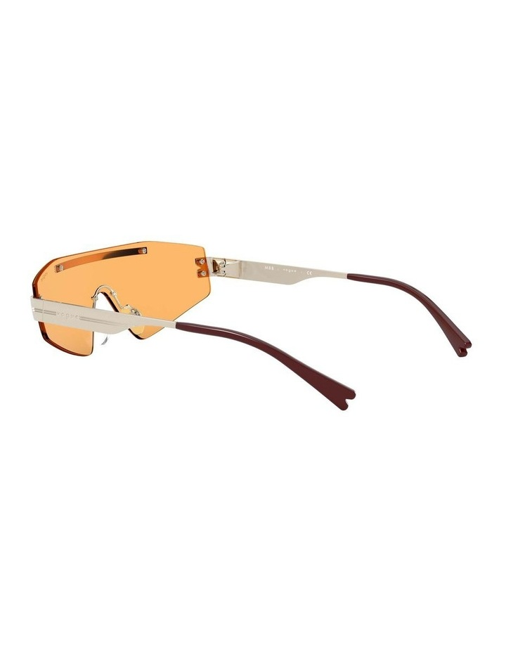 Orange Metal Shield Sunglasses 0VO4165S 1530181003 image 5
