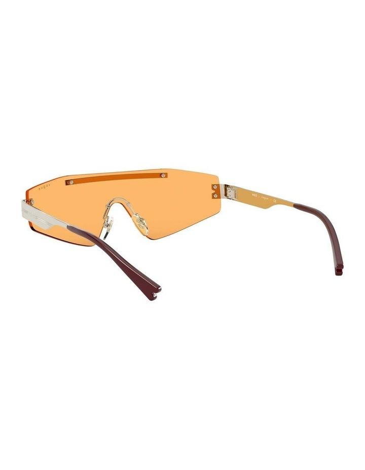 Orange Metal Shield Sunglasses 0VO4165S 1530181003 image 6