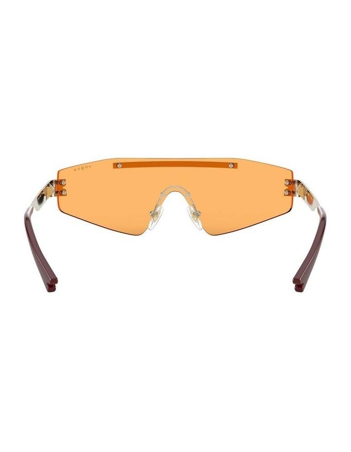 Orange Metal Shield Sunglasses 0VO4165S 1530181003 image 7