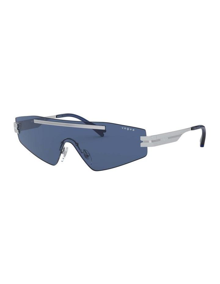 Blue Metal Shield Sunglasses 0VO4165S 1530181004 image 1