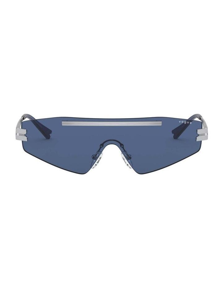 Blue Metal Shield Sunglasses 0VO4165S 1530181004 image 2
