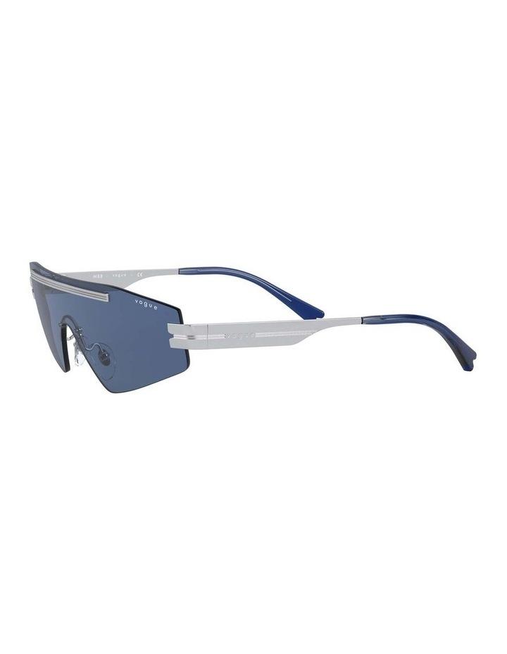 Blue Metal Shield Sunglasses 0VO4165S 1530181004 image 3