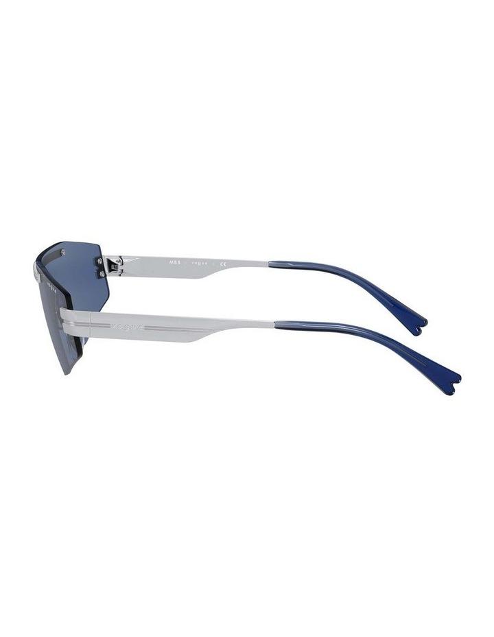 Blue Metal Shield Sunglasses 0VO4165S 1530181004 image 4