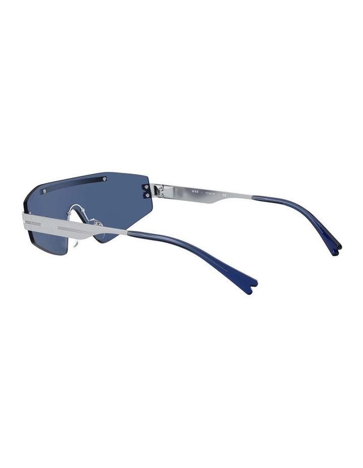 Blue Metal Shield Sunglasses 0VO4165S 1530181004 image 5