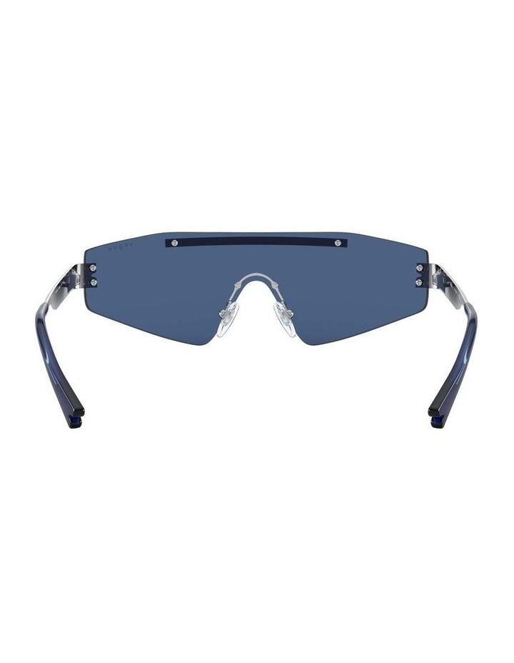 Blue Metal Shield Sunglasses 0VO4165S 1530181004 image 7