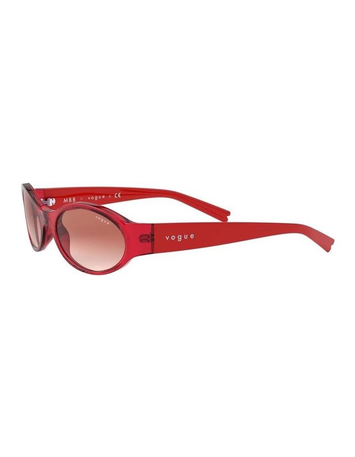 Pink Oval Sunglasses 0VO5315S 1530182001 image 3