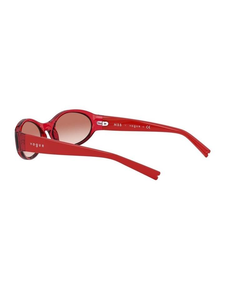 Pink Oval Sunglasses 0VO5315S 1530182001 image 5