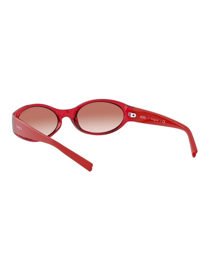 Pink Oval Sunglasses 0VO5315S 1530182001 image 6