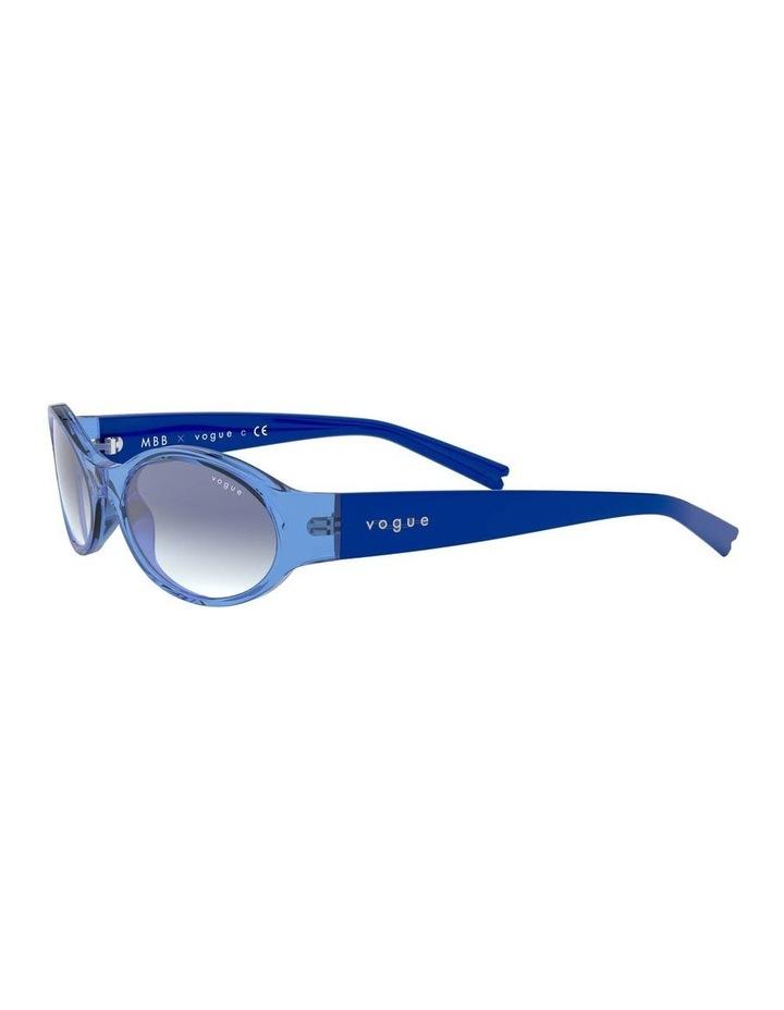 Blue Oval Sunglasses 0VO5315S 1530182002 image 3