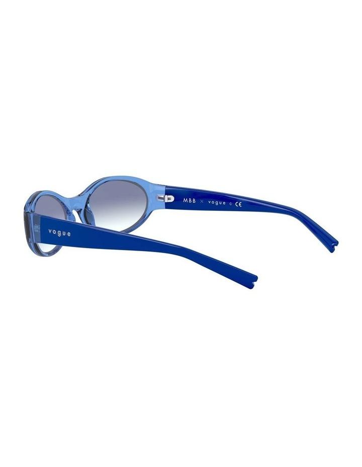 Blue Oval Sunglasses 0VO5315S 1530182002 image 5