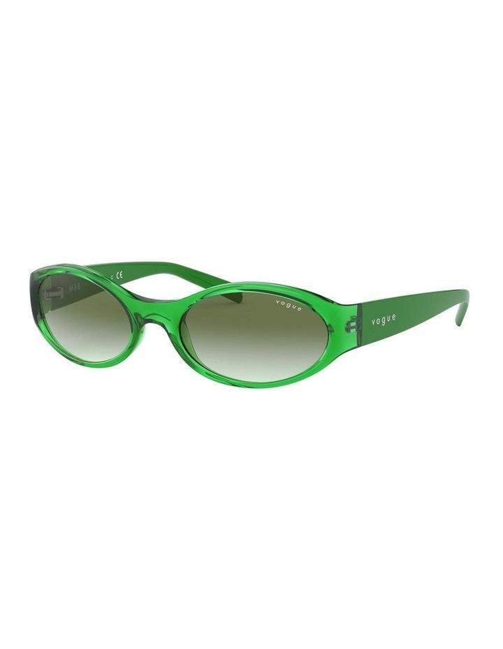 Green Oval Sunglasses 0VO5315S 1530182005 image 1