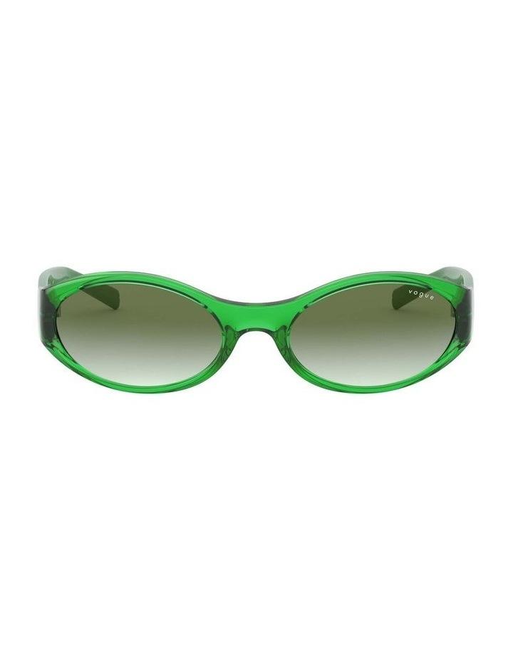 Green Oval Sunglasses 0VO5315S 1530182005 image 2