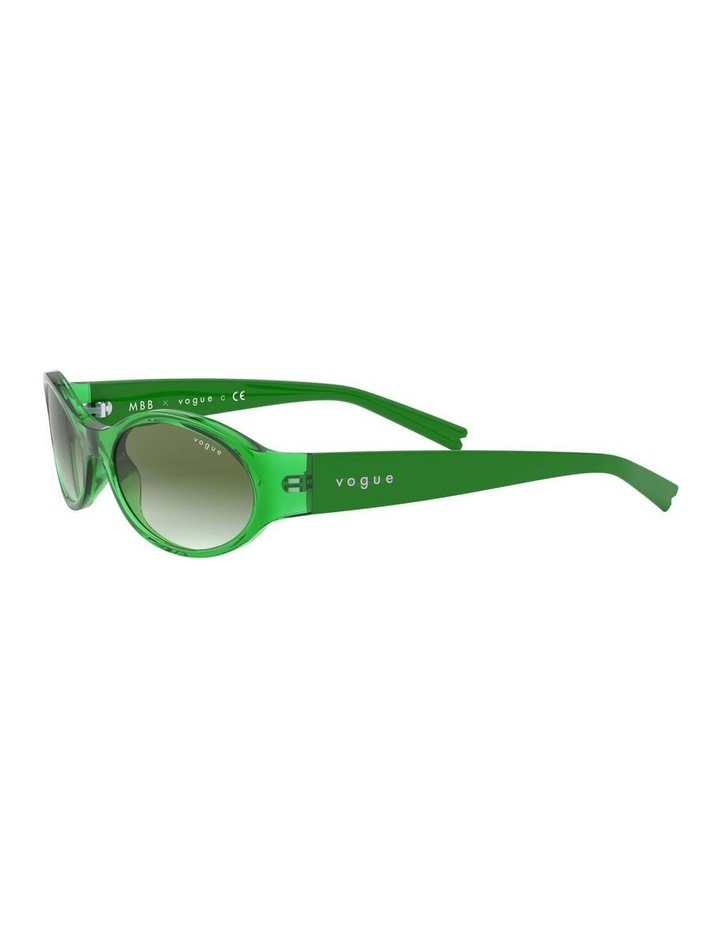Green Oval Sunglasses 0VO5315S 1530182005 image 3