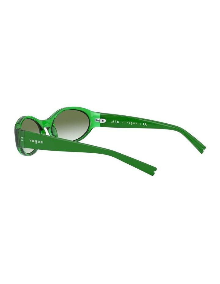Green Oval Sunglasses 0VO5315S 1530182005 image 5