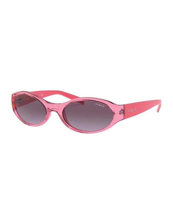 Purple Oval Sunglasses 0VO5315S 1530182006 image 1