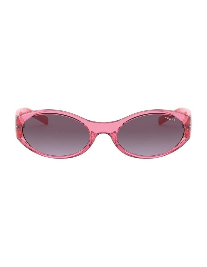 Purple Oval Sunglasses 0VO5315S 1530182006 image 2