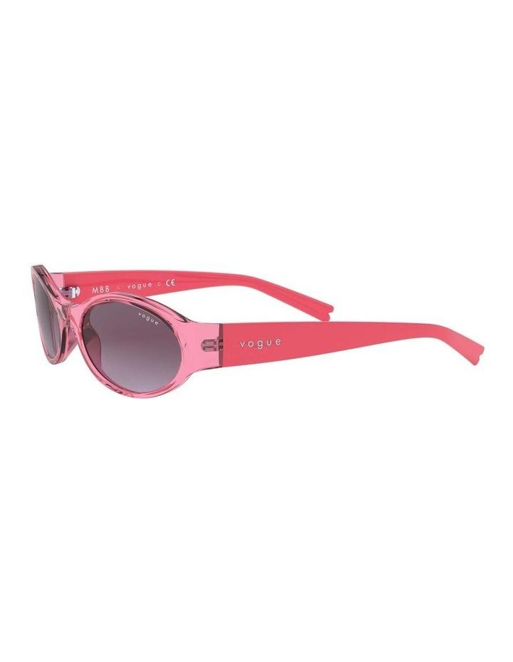 Purple Oval Sunglasses 0VO5315S 1530182006 image 3