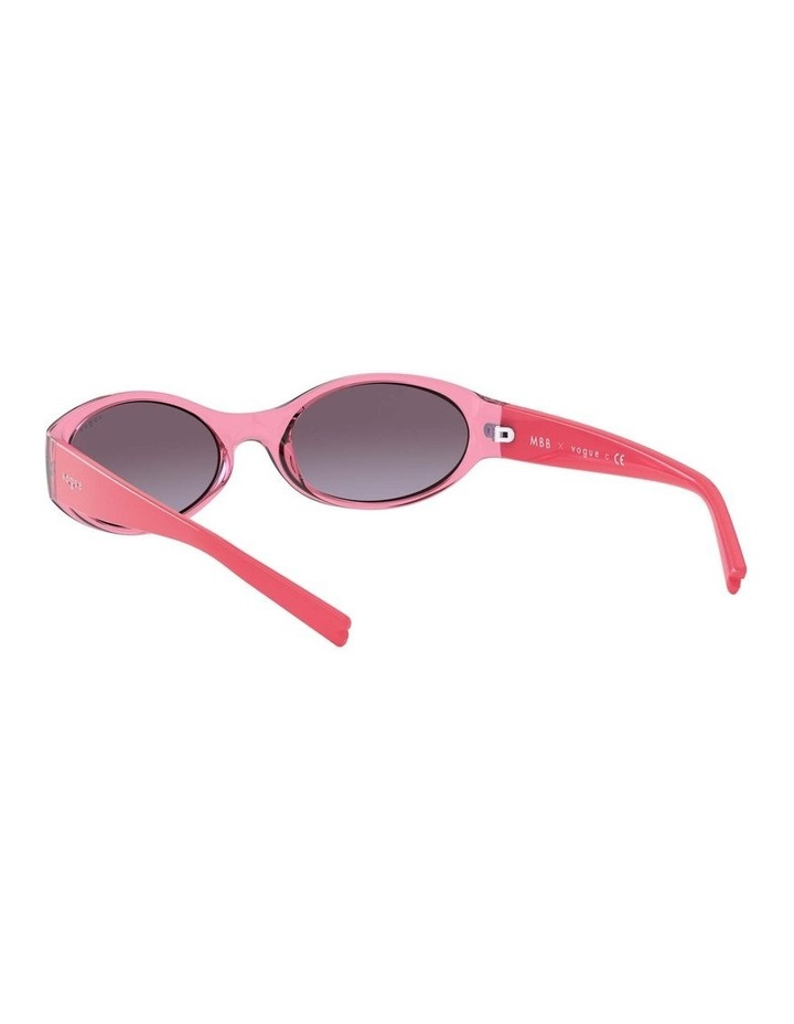 Purple Oval Sunglasses 0VO5315S 1530182006 image 6