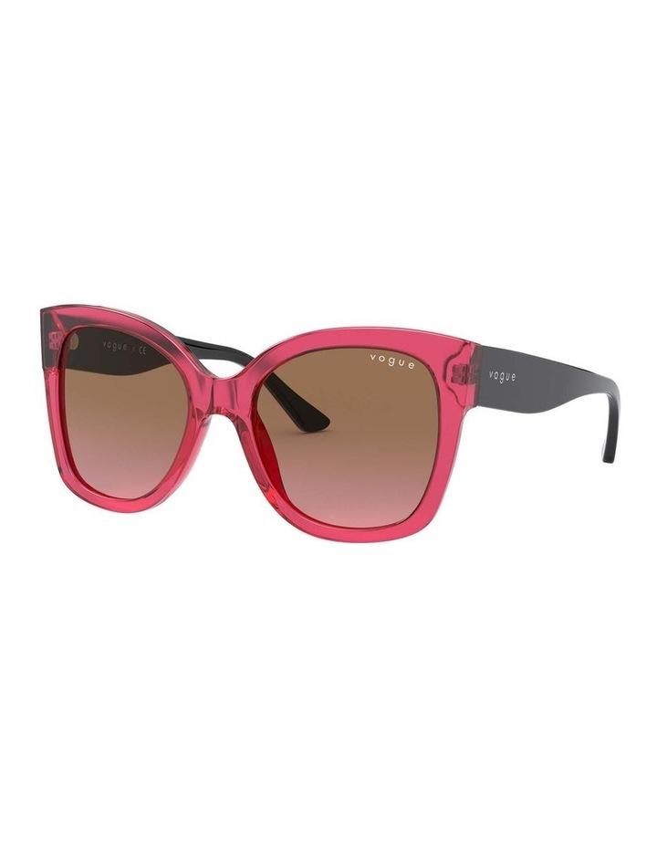 Brown Square Sunglasses 0VO5338S 1530183002 image 1