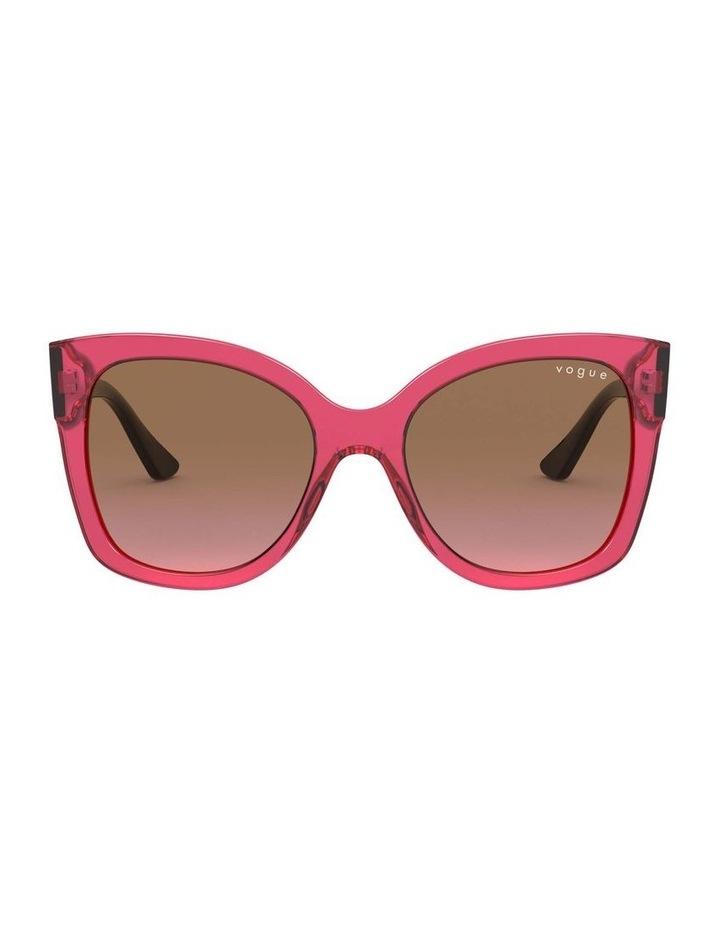 Brown Square Sunglasses 0VO5338S 1530183002 image 2