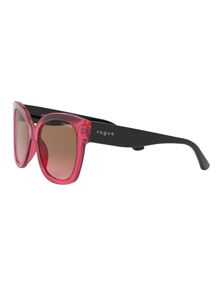 Brown Square Sunglasses 0VO5338S 1530183002 image 3