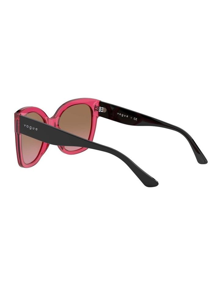 Brown Square Sunglasses 0VO5338S 1530183002 image 5