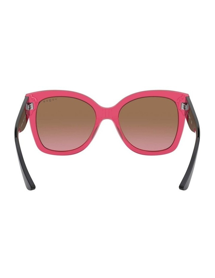 Brown Square Sunglasses 0VO5338S 1530183002 image 7