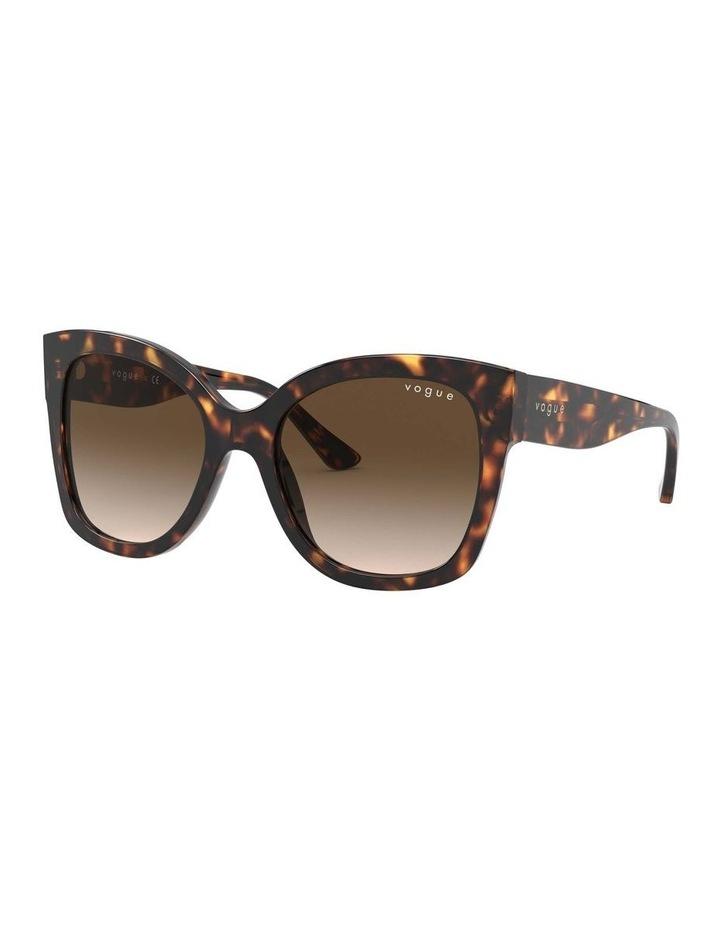 Brown Square Sunglasses 0VO5338S 1530183004 image 1