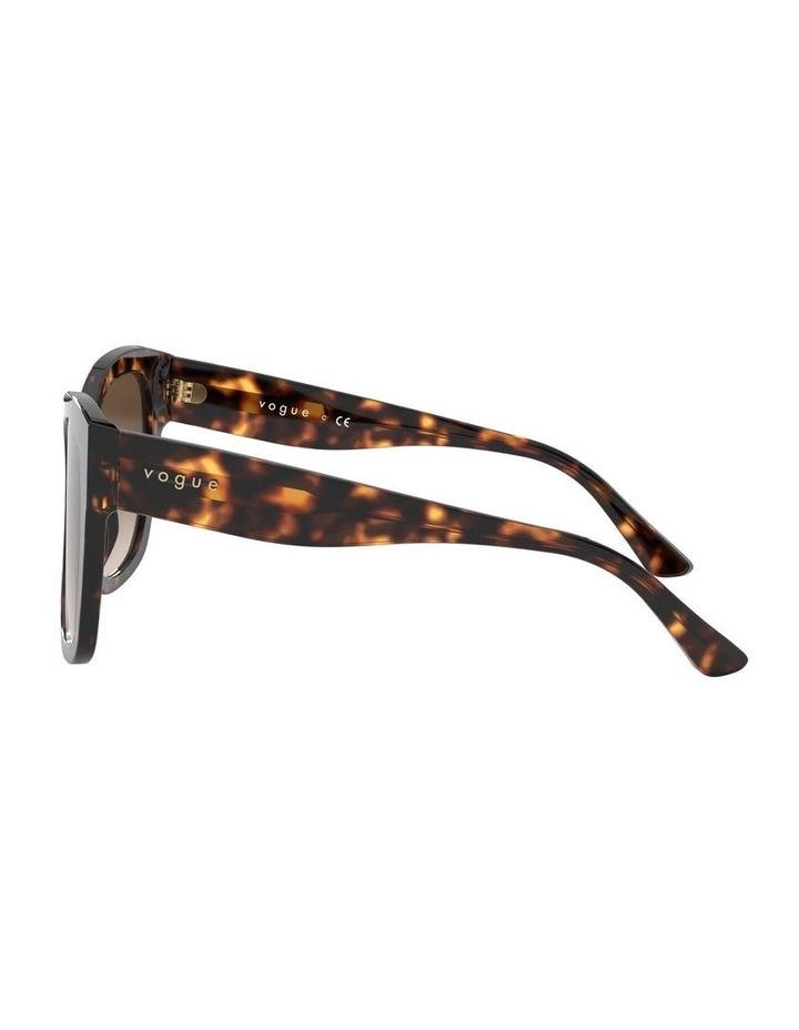 Brown Square Sunglasses 0VO5338S 1530183004 image 4