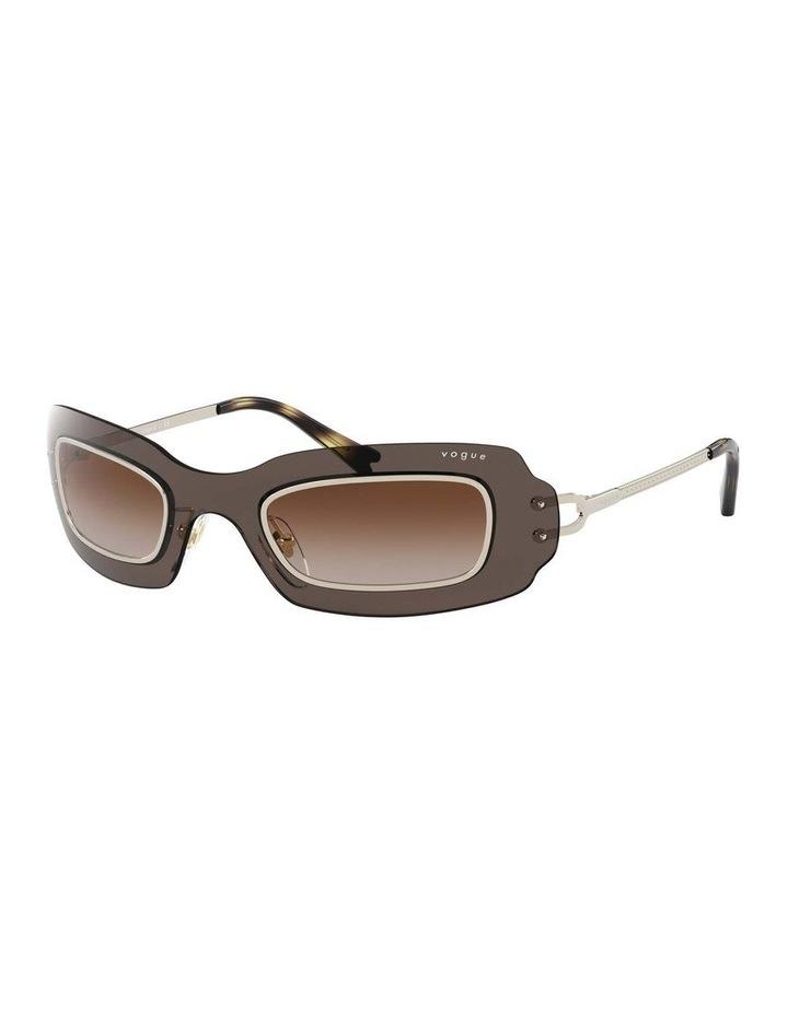 Brown Shield Sunglasses 0VO4169S 1530804002 image 1