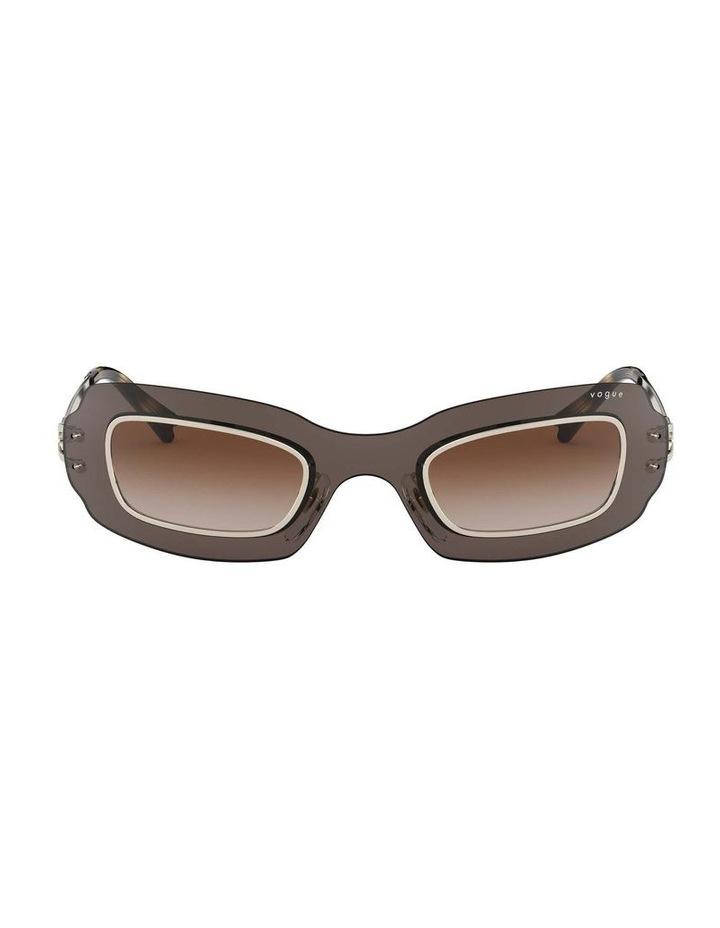 Brown Shield Sunglasses 0VO4169S 1530804002 image 2