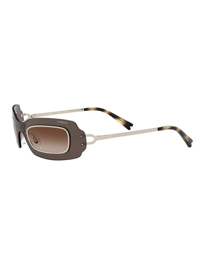 Brown Shield Sunglasses 0VO4169S 1530804002 image 3