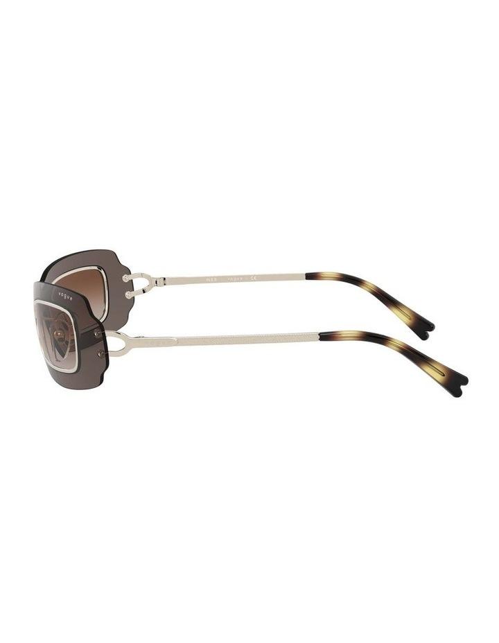 Brown Shield Sunglasses 0VO4169S 1530804002 image 4