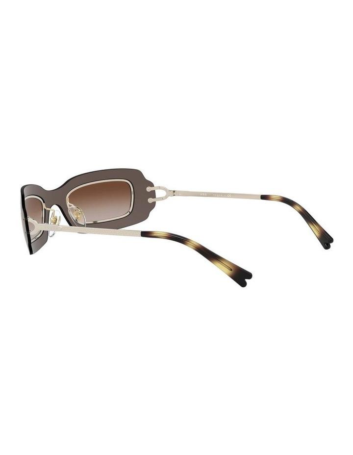 Brown Shield Sunglasses 0VO4169S 1530804002 image 5