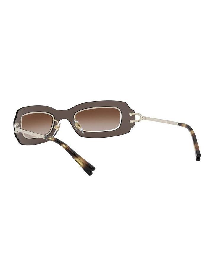 Brown Shield Sunglasses 0VO4169S 1530804002 image 6