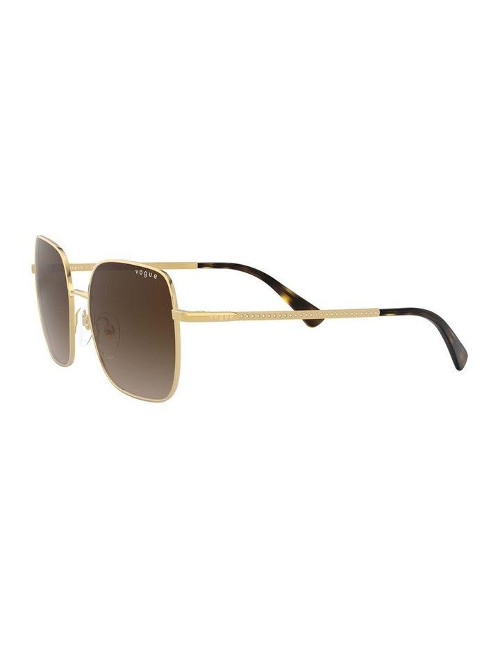 Brown Metal Square Sunglasses 0VO4175SB 1530806002 image 3