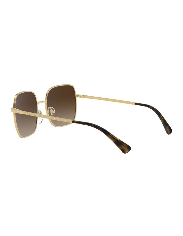 Brown Metal Square Sunglasses 0VO4175SB 1530806002 image 5